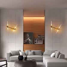 bedroom sconce lighting. Bedroom Fashion Modern Tree Fork LED Reading Sconce Lights Wall Lamp In Gold Finished Lighting