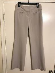 Express Editor Womens Size 0 Pants Low Rise Straight