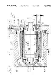 patent us5304883 ring wound stator having variable cross section patent drawing