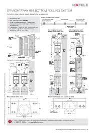 Hafele Sliding Door Track - Exterior sliding door track