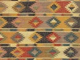 area rugs wool tribal area rugs rugs flat weave tribal pattern multi color hemp and jute