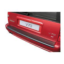 Abs Achterbumper Beschermlijst Volvo V70 1996 2000 Voor Gespoten Bumpers Zwart