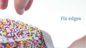 Decorating With Sprinkles How To Decorate A Cake With Sprinkles Youtube
