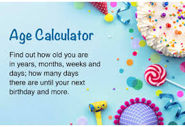 Date Of Birth Age Chart Age Calculator How Old Am I