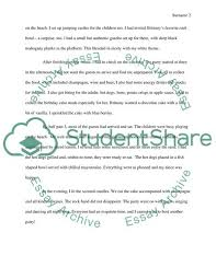 Example Of 5 Paragraph Essays 5 Paragraph Illustration Birthday Party At The Beach With A