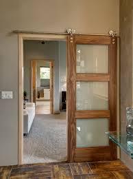 Hanging Sliding Door Kit Barn Doors Sliding Barn Doors Can Even Be Flush Doors With