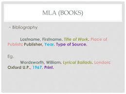 Mla In Text Citations And Bibliographies Ppt Download