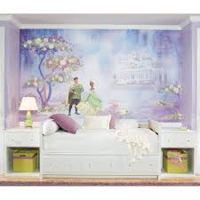 Princess And The Frog Bedroom Decor Princess Frog Wall Mural Tiana Wallpaper Accent Decor