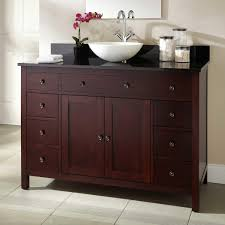 Modern Bathroom With Vanity Has Locker And Drawer For Storage With - Bathroom locker