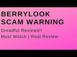 Berrylook Size Chart Berrylook Com Review Is It A Scam Scamfinance