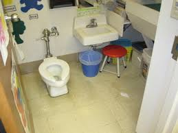 preschool bathroom sink. Our Class Has Its Own Preschooler-sized Bathroom With Low Toilet And Sink.  It\u0027s Also Equipped A Diaper Changing Table Pail. Preschool Sink