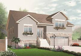 126 1083 computerized front elevation of house plan 126 1083