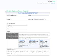 An Outstanding Business Progress Report Free Template Download