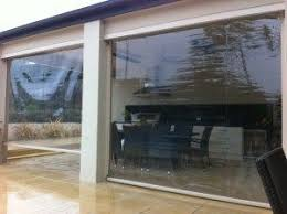 exterior blinds uk. the outdoor blind company ezy channel in pvc exterior blinds uk