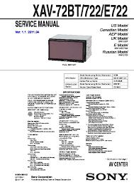 sony car audio service manuals page 54 rh servicemanuals us haynes repair manuals chilton auto repair