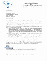 Testimony of Ivory N. Mathews, Interim Executive Director Housing Authority  of the City of Columbia, South Carolina Before the U