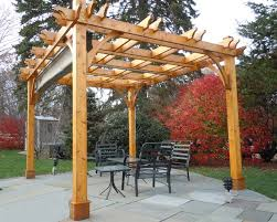 diy pergola kit 10x12 with retractable canopy traditional patio stylish light wooden design modern and black furniture chairs
