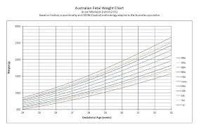 Fetal Growth Chart Percentile Fetal Weight Chart Jasonkellyphoto Co