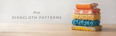 Free Knitting Patterns For Dishcloths Mesmerizing 48 Weeks Of Free Dishcloth Pattern From KnitPicks