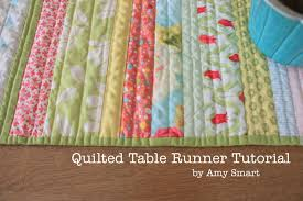 Table Runner Patterns Custom Easy DIY Quilt Table Runner