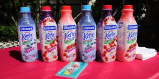 kefir milk. sergi alexander via getty images kefir milk