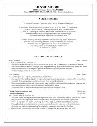 Good Nursing Resume Examples 100 Images Resume Objective