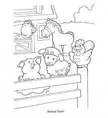 Small Picture Free Farm Animal Coloring Pages allegiancewarscom