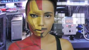 iron man makeup photos makeup artist undergoes incredible transformations into disney characters