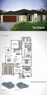 Modern 4 Bedroom House Plans 17 Best Ideas About Double Storey House Plans On Pinterest