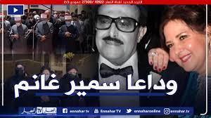 بالصور.. جنازة مهيبة للنجم سمير غانم وانهيار بناته أثناء الصلاة عليه —  النهار أونلاين
