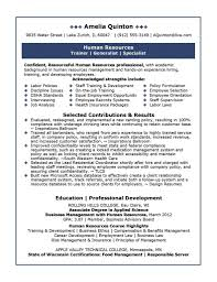 Human Resource Manager Resume Hr Manager Resume Human Resources