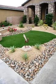 garden figures. Ideas Front Yard Design With Steingarten- Hauseingang Natustein Garden Figures