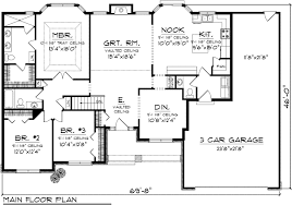 ranch house floor plans. Plan Ranch Floor Plans House S