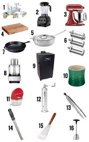 kitchen utensils list. Kitchen Utensils List Foodie Holiday Gift Guide E