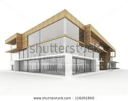 modern office building design. Design Of Modern Office Building. Architects And Designers Computer Generated Visualization. Building R