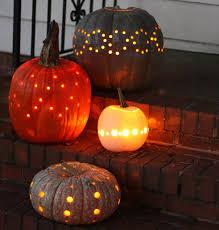 Drilled Pumpkin Patterns