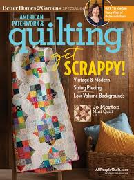American Patchwork & Quilting October 2017 | AllPeopleQuilt.com & October 2017 Adamdwight.com