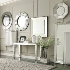Brinkley Dark Brown Trim Mirrored Frame Square Accent Wall Mirror by  iNSPIRE Q Bold - Free