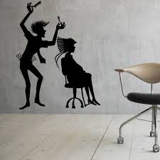 Small Picture Aliexpresscom Buy Hairdressing Hairstyle Barber Shop Wall