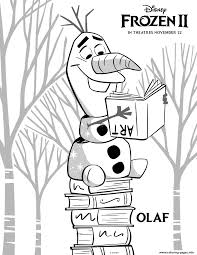 We are glad to meet you here. Frozen 2 Olaf Coloring Pages Printable