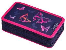 <b>Herlitz Пенал Rainbow</b> Butterfly (50020898) — купить по выгодной ...