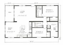 2 bedroom 2 bath modular home floor plans.