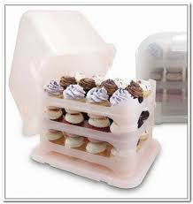 36 Cupcake Carrier Mesmerizing Cupcake Carrier 60 Cupcake Plastic Storage Container Home Design Ideas