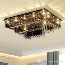 black chandelier for girls room chandeliers high end crystal led ceiling rectangle black clear chandelier lights