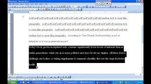 Mla Essay Writing Youtube