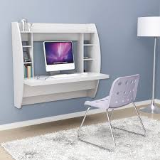 white desk with shelves luxury white floating desk with storage