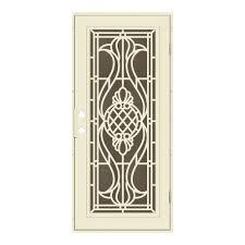 perforated metal screen door. 30 In. X 80 Manchester Beige Hammer Right-Hand Surface Mount Perforated Metal Screen Door