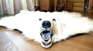 faux polar bear rug polar bear skin rug image of rug polar bear rug faux bearskin