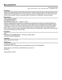 cleaning services cv examples in manchester  lan   livecareerfeatured cv    s