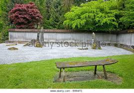japanese garden furniture. Garden Stone Bench Stock Photos Japanese For Viewing The Raked Sand And In Zen Of Furniture U